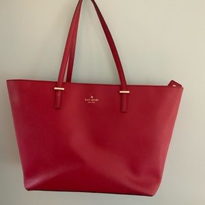 Kate spade cherry red tote